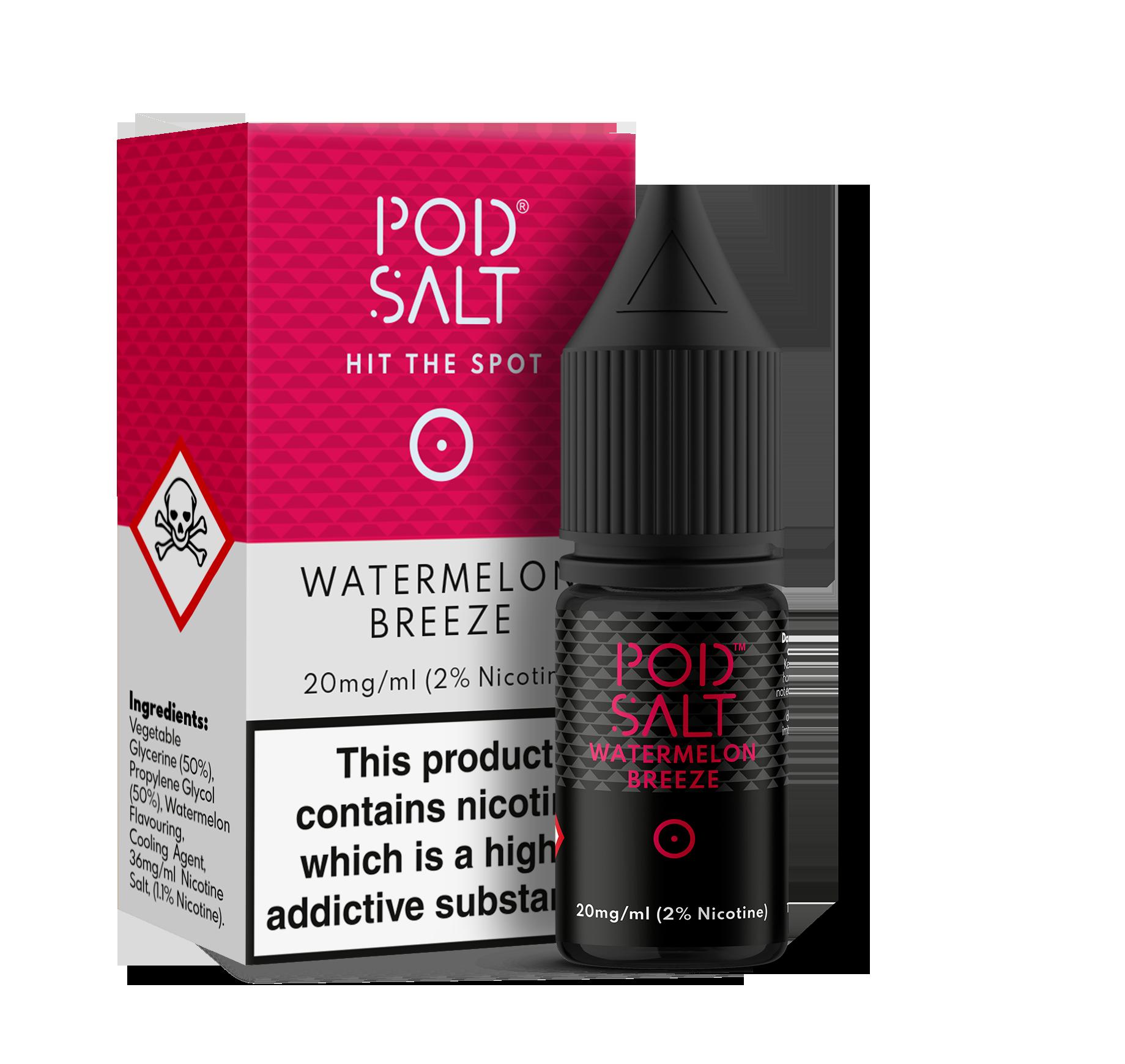 Pod Salts 11MG & 20MG - Watermelon-breeze