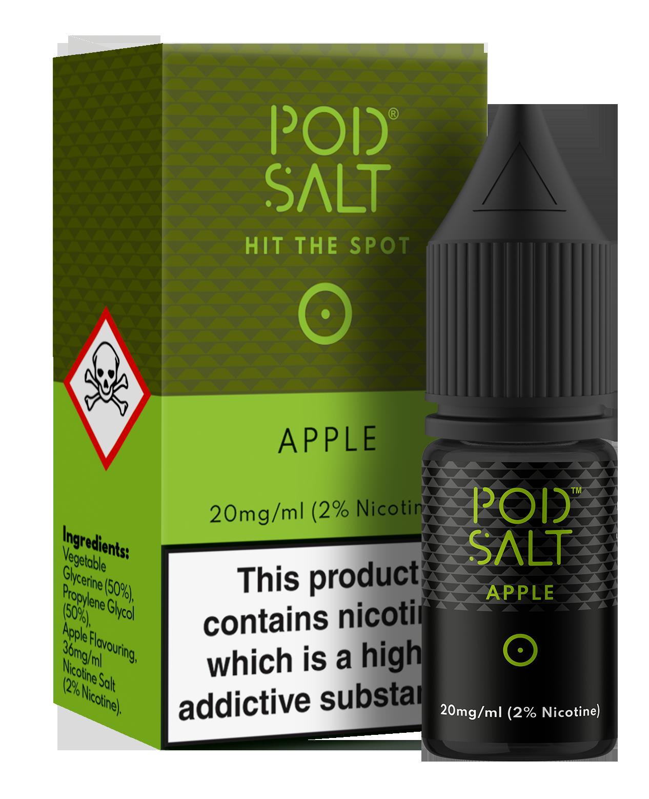 Pod Salts 11MG & 20MG - Apple