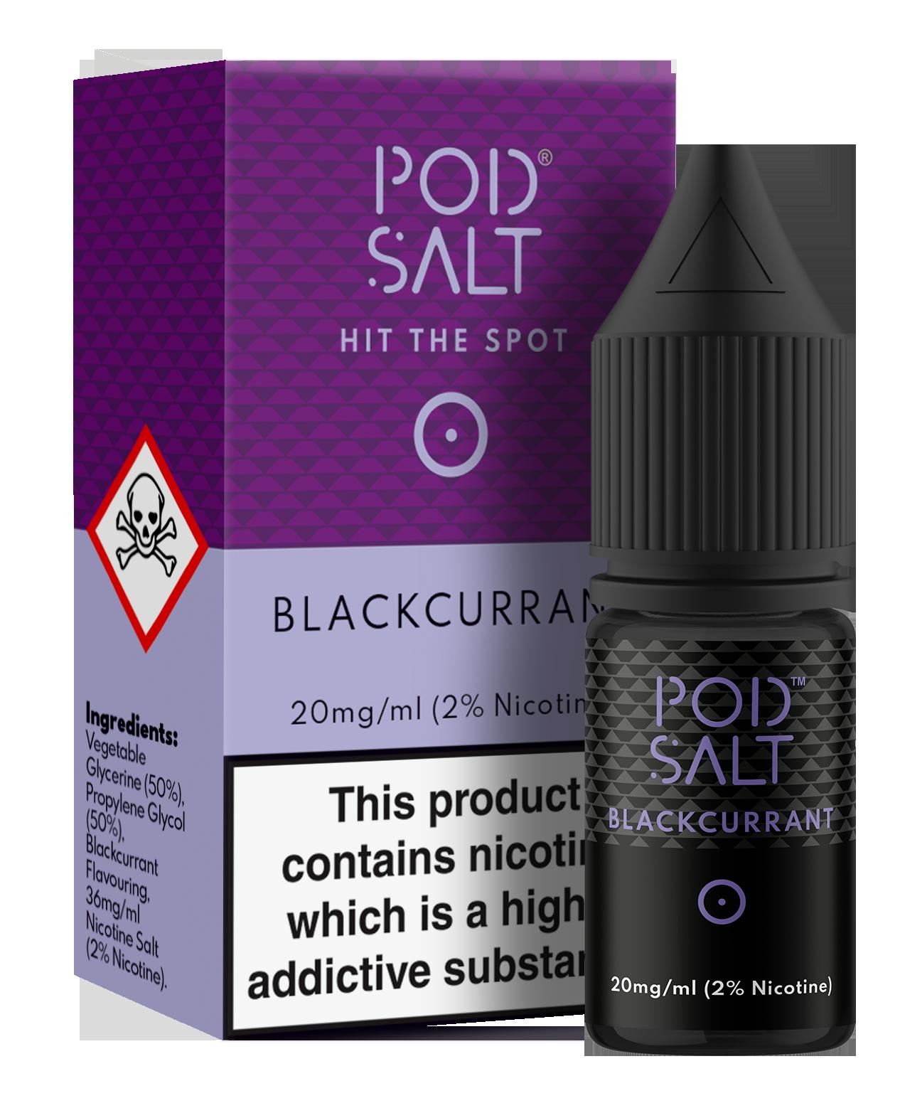 Pod Salts 11MG & 20MG - Blackcurrant