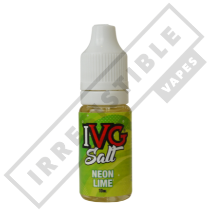 IVG NIC SALTS OR 3 FOR £12 (use discount code 3for12) - Neon-lime