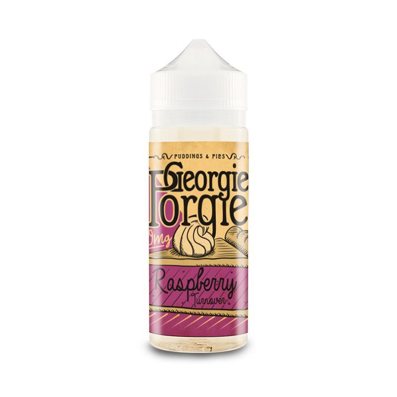 Georgie Porgie 100ml - Raspberry-turnover