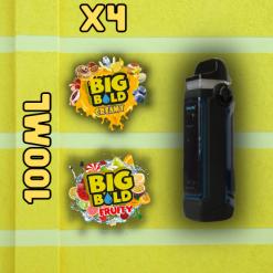 BIG BOLD, Smok, IPX80, Bundle, 100ml, Creamy, fruity, Vape, e liquid, Juice