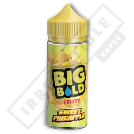 Big Bold Fruity 100mls - Sweet-pineapple